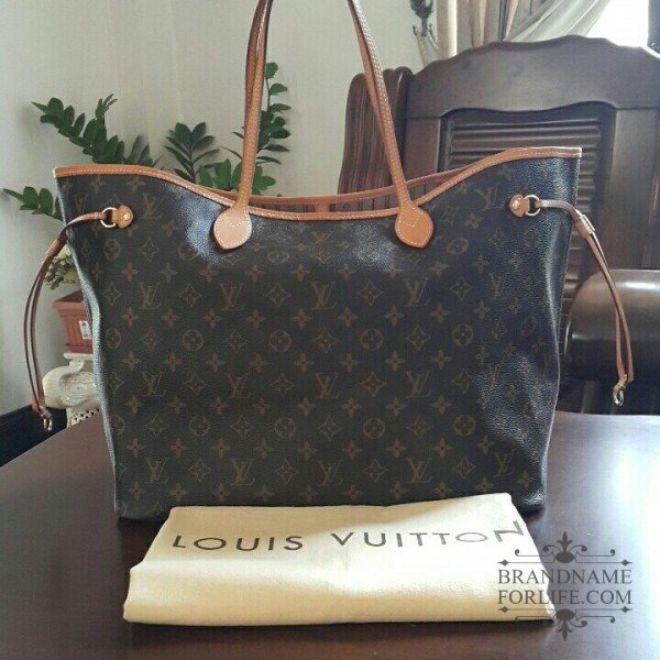 357132d6621 Authentic Pre-loved Louis Vuitton Monogram Neverfull GM | Brandname ...