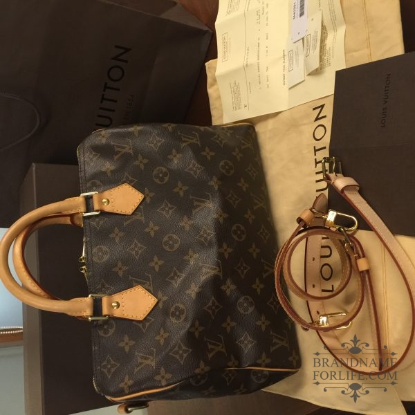 aa07991cd2ccd Authentic Pre-loved Louis Vuitton Monogram Speedy Bandouliere 30 ...