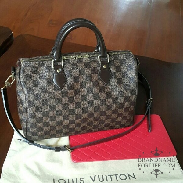 945433974af4 Authentic Pre-loved Louis Vuitton Damier Ebene Speedy Bandouliere 30 ...