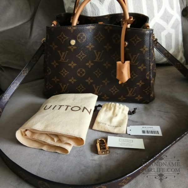 4ea3321e8b7 Authentic Pre-loved Louis Vuitton Monogram Montaigne BB | Brandname ...